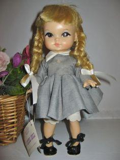 vintage-1965-pre-Blythe-big-eye-11-vinyl-Royal-Dolls-Joy-w-original-tag-EUC