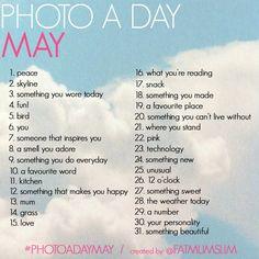 #PHOTOADAYMAY