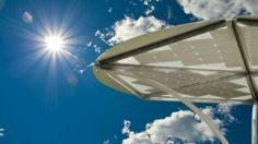 Ombreggiante fotovoltaico elecTreeco