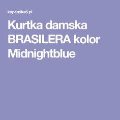Kurtka damska BRASILERA kolor Midnightblue
