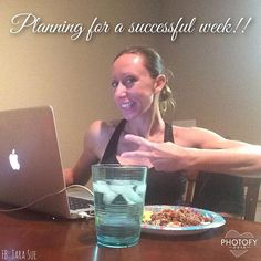 It's a day to reflect & review my past week's goals, and plan for the week ahead!! Whew! This past week has been a blast and I can't wait to share more with you soon!! Food back on track after my delicious Mexican meal last night!! When in moderation I'll never feel guilty! Work hard and fuel!!  Back to business for a bit and then it's off for a lil shopping and Pedi's with my girl!