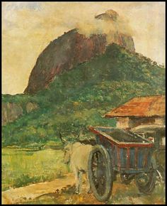 Paisagem com a rocha dos Dois Irmãos ao fundo, 1935 Paulo Rossi Osir (Brasil, 1890-1959) - Palácio dos Bandeirantes, São Paulo