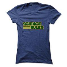 Science Rules T Shirt, Hoodie, Sweatshirt