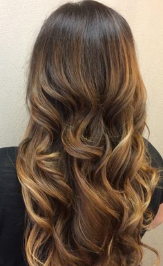 My recent balayage ombre. Love being a brunette! All my thanks to Valerie at Elite Boutique Salon.