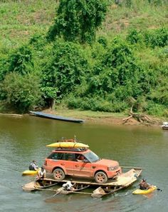 4x4 by boat