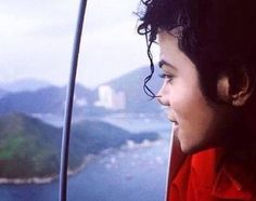 I love the stare of wonder in his eyes... he looks so beautiful. You give me butterflies inside Michael... ღ by ⊰@carlamartinsmj⊱