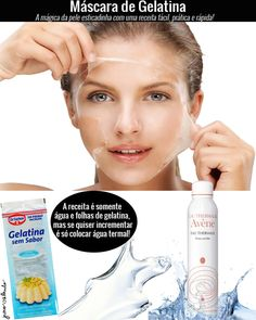 Máscara de gelatina: uma máscara mágica que tem efeito tensor imediato e garante que a pele fique esticadinha por umas boas horas!