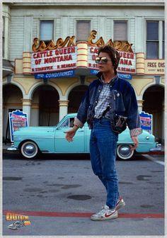 Back to the future. Michael j Fox