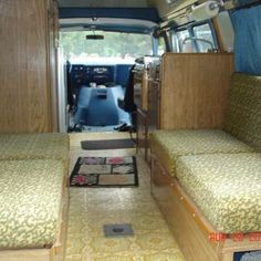 #FlashBackFriday  this is one of the pics from the #craigslist ad when my van was for sale. Look at all of that space! Even when the bed is out or the table is up there is still enough room for me to stretch out on the floor. And I've done it plenty of time. Just roll out my yoga mat and call it good. #vangrrrl #vanlife #vanlifediaries