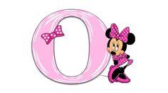 Minnie Mouse Pink Alphabet | Jewels Art Creation