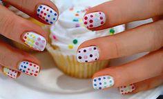 funfetti nails