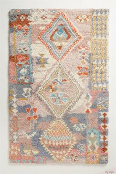 Discover unique rugs, area rugs, doormats and runners at Anthropologie, including the season's newest arrivals. Traditional Kilim, Area Rug Pad, Colorful Rugs, Handmade Rugs, Rugs, Rugs In Living Room, Area Rugs, Vintage Rugs, Bohemian Rug