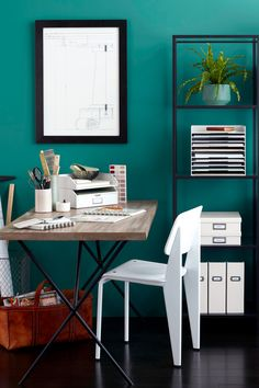 Bulky Office Furniture Isnu0027t Ideal For Small Work Spaces. Martha Stewartu0027s  Collection Of