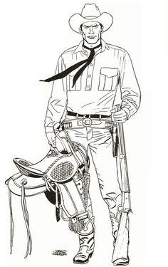 O Tex de Sergio Zaniboni
