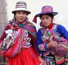 Las personas es Quechua. Es posible que compres ropa Quechua y cosas de Quechua.