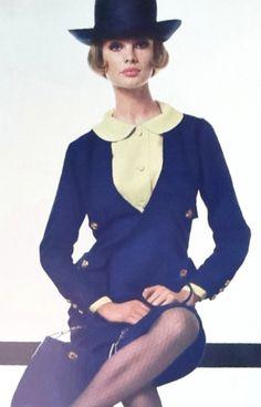Jean Shrimpton fotografado por David Bailey 1964 para a Vogue (graças a Jane Davis)