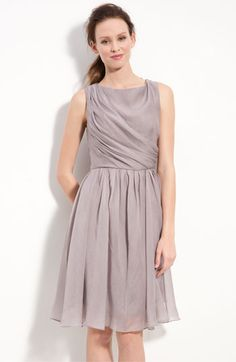 Suzi Chin for Maggy Boutique Draped Organza Dress available at Nordstrom