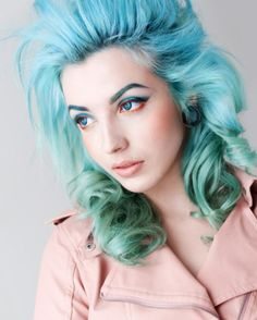 New Hair Color Trend: 14 Colorful Eyebrows You HAVE to See via Brit + Co.