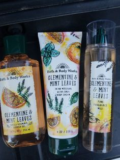 New unused set . Will bundle with other items just ask! Bath N Body Works, Bath And Body Works Perfume, Victoria Secret Body Spray, Victoria Secret Fragrances, Body Hacks, Smell Good, Body Lotion, Body Care, Skincare