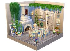 i saw some posts about the the sims dollhouse trend and i tried it as well ! i saw some posts about the the sims dollhouse trend and i tried it as well ! Sims 4 House Plans, Sims 4 House Building, Lotes The Sims 4, Sims Cc, Pottery Barn Outdoor, Muebles Sims 4 Cc, Sims 4 Bedroom, Sims 4 House Design, Casas The Sims 4