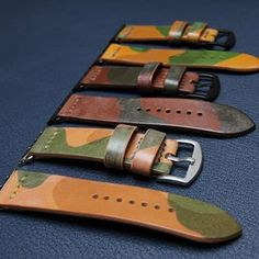Others camo straps for Apple Watch #apple #applewatch #applewatchstrap #leatherwatchstrap #watchband #handmade #czech #czechmade #praha #prague #reminek #pasek #hodinky #panerai #igercz #igraczech #instaczech #instacz #vscocze #pavelhlavka