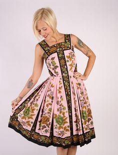 1950s Dress // vintage 50s Fred Rothschild // by dethrosevintage, $185.00