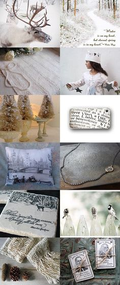 Winter Whispers by KATE on Etsy