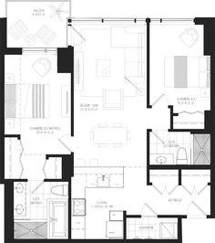 Découvrez les plans de nos nouveaux condos — EvoloX Condos, Floor Plans, How To Plan, Baby Born, Floor Plan Drawing, House Floor Plans