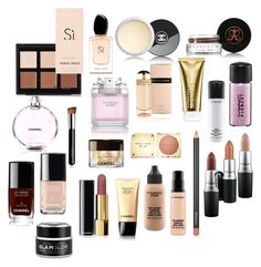 """new york shopping"" by cornelia-smrecki on Polyvore featuring beauty, MAC Cosmetics, Chanel, Anastasia Beverly Hills, GlamGlow, Michael Kors, Prada and Victoria's Secret"