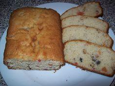 Fruit cake recipe Banana Bread, Cake Recipes, Fruit, Desserts, Food, Tailgate Desserts, Deserts, Easy Cake Recipes, Essen
