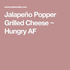 With the addition of a spicy pepper, you're going to want to get all up in this cheesy goodness. Roasted Jalapeno, Jalapeno Poppers, Slice Of Bread, Cheddar Cheese, Kos, Spicy, Grilling, Stuffed Peppers, Cooking