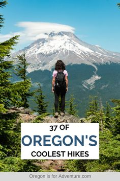 If you're after some of the best hikes in Oregon, you've come to the right place. Here are some of the most epic Oregon hiking trails you can conquer. Oregon Road Trip, Oregon Travel, Travel Usa, Oregon Hiking, Portland Oregon, Travel Portland, Oregon Vacation, Disney Travel, Beach Travel