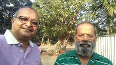 With my friend Shri Vasan Savi