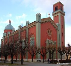 Slovakia, Kežmarok - Red church