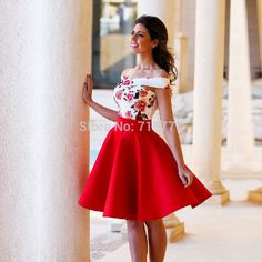 ae01.alicdn.com kf HTB1U5C9KVXXXXbzXVXXq6xXFXXX8 2016-Nice-White-and-Red-font-b-Homecoming-b-font-font-b-Dresses-b-font-Knee.jpg