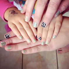 Matching Jamberry's for me & my mini me! http://katrinathorpe.jamberrynails.net/party/?uid=15540a9d-a575-41fc-8e32-6798d9a62285