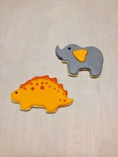 practice dinosaur and elephant Apr 2015