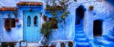 Самый синий город на Земле: фото