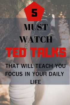 5 Must Watch TED-Talks that will teach you focus in your daily life! # ted-talks # how to get more done Ted Talks, Self Development, Personal Development, Sensitive Skin Care, Time Management Tips, Busy Life, Self Improvement, Inspire Me, Life Lessons
