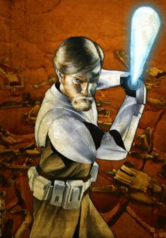Obi-Wan Kenobi by Cat Staggs