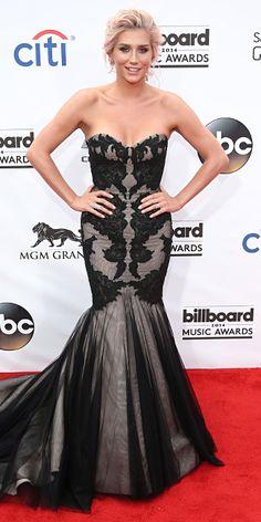 2014 Billboard Music Awards Red Carpet Fashions - Kesha from #InStyle KESHA  Kesha in an Ines Di Santo dress.