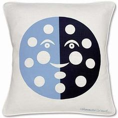 Alexander Girard Cushion. Would feel nice and cozy in a basement playroom. Perhaps in a reading nook?