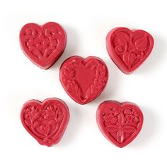 Guest 5 Hearts Mold | Bramble Berry® Soap Making Supplies
