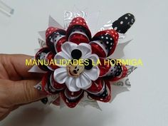 Como hacer flores lindas y elegandes de liston para lazos, video 549, Make Simple Easy Bow tutorial - YouTube
