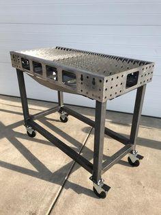welding table plans or ideas Diy Welding, Welding Table, Metal Welding, Welding Projects, Welding Ideas, Diy Projects, Welding Crafts, Welding Design, Metal Projects