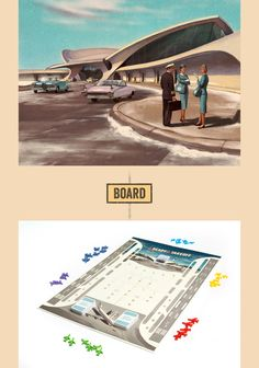 """As one of the most realistic aviation board games on the market, """"Ready for Takeoff"""" was expertly created by an airline pilot teamed with game designers. The game is centred around life at John F. Kennedy airport in the 1960s. The task is to manage one of…"""
