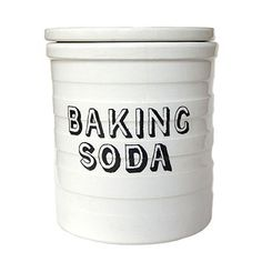 De-grease your grill with baking soda! #clean