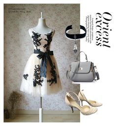"""Dress"" by masayuki4499 ❤ liked on Polyvore featuring Nicole, Child Of Wild and Louis Vuitton"