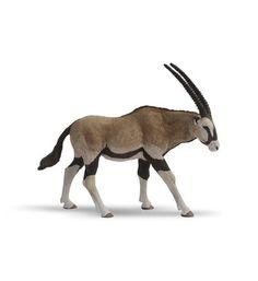 En plastique réaliste faune jungle animaux de la forêt antilope Action