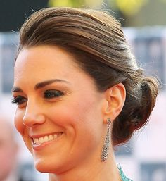 Kate Middleton Loose Bun - Updos Lookbook - StyleBistro